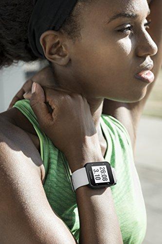 Garmin Forerunner 35 – Montre GPS de Course à Pied Connectée avec Cardio Poignet - Blanc