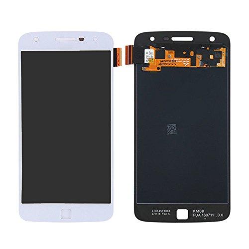 LCD Display Touch Screen Digitizer for Motorola Z Play XT1635 XT1635-01 XT1635-02 XT1635-03 5.5' White