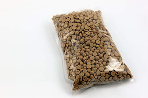 Callebaut GOLD Karamell-Schokoladenkuvertüre, Callets 1 kg, Backschokolade, Chips
