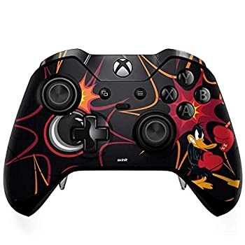 Skinit Decal Gaming Skin Compatible with Xbox One Elite Controller - Officially Licensed Warner Bros Daffy Duck Boxer Design