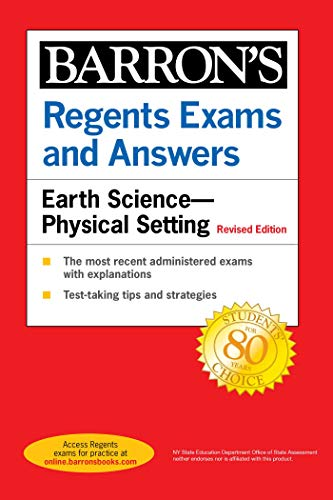 Compare Textbook Prices for Regents Exams and Answers: Earth Science--Physical Setting Revised Edition Barron's Regents NY  ISBN 9781506264653 by Denecke Jr., Edward J.