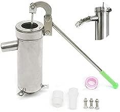 Deep Well Water Pump Handheld Press Pump Suction Pump Stainless Steel 10M Depth Hand Well Pump for Home Garden Yard