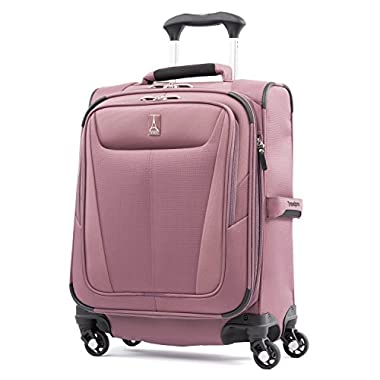 Travelpro Luggage Maxlite 5 20  Lightweight Carry-on Intl Expandable Spinner Suitcase, Dusty Rose