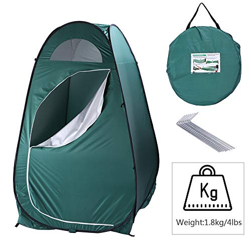 Portable Outdoor Changing Tent,Waterproof Portable Set Up Toilet Changing Camping Beach Dresses Fitting Room with Carry Bag