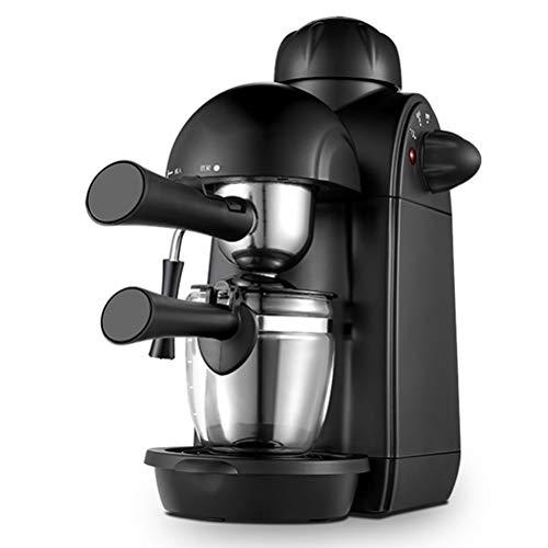 Máquina de Café,Cafeteras de goteo, Capuchino y máquina de expresso, Evaporador de leche, 4 tazas de café, Presión de 5 bares, 730W Cafetera hidropresión