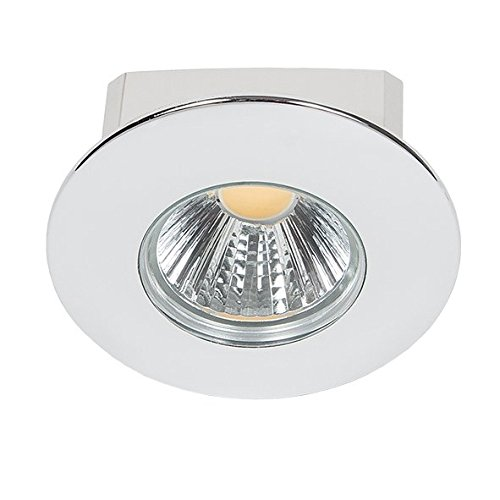 nobilé Downlight A 5068 T Flat IP44 chrom 8W 38 Grad, warmweiß NO-1856670223