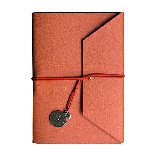 Seeyouagan Creative - Quaderno da viaggio in pelle PU, con copertina in pelle PU, per notebook A5