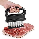 attendrisseur de viande, attendrisseur à viande manuel à 48 lames en acier inoxydable pour