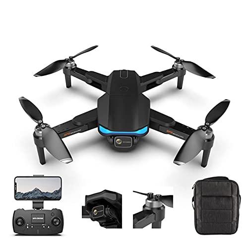 GZTYLQQ Lailuaxoa 6K UHD Camera Drone per Adulti, Dual Camera Drone con Motore Brushless Ritorno Automatico a Casa modalità Headless 28 Minuti Tempo di Volo
