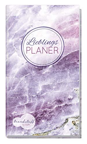 Trendstuff Lieblingsplaner - Wochenplaner Notizbuch A6 liniert [Edelstein] mit 124 Seiten | 1 Woche auf 2 Seiten | Mini Notizkalender, Taschenkalender ohne festes Datum