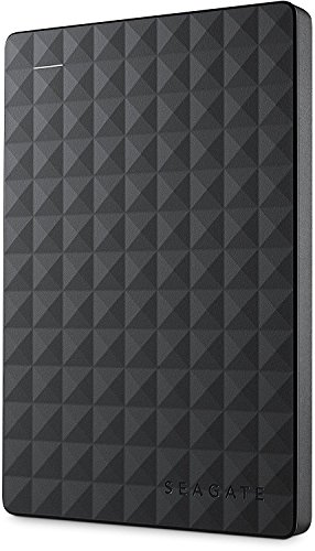 Seagate Expansion Portable, externo disco duro portátil HDD USB 3.0, PC & PS4 negro Negro   1.000GB (1TB) (Reacondicionado)