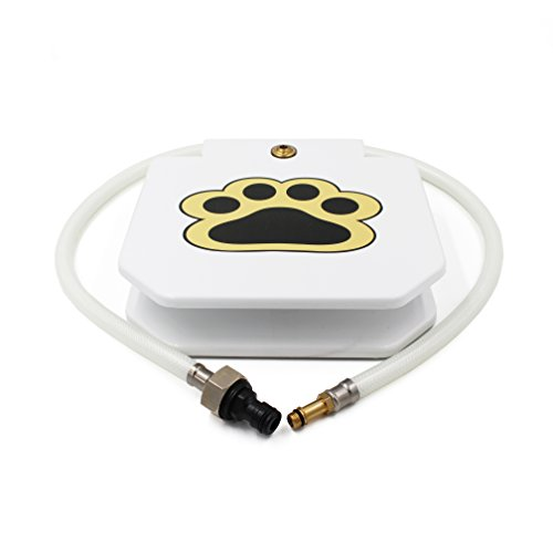 Best Sell1 Dog Fountain Sprinkler White Waterproof Paint 2019 Newest Upgraded Model