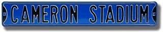 Duke Blue Devils Cameron Stadium Street Sign