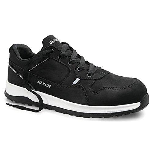 ELTEN Sicherheitshalbschuhe S3 Journey, Farbe:schwarz, Schuhgröße:41 (UK 7)
