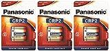 Pila de Litio Panasonic CRP2 6V - Blister 1 x3 - Paquete 3 Blister