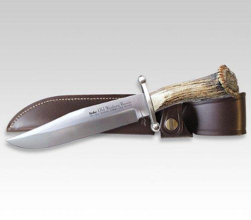 Linder Bowiemesser Western Klingenlänge 17.7 cm, 30.6 cm, 122418