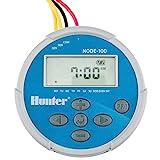 Hunter Sprinkler NODE100 NODE-100 Battery Controller with Solenoid, Small, Blue