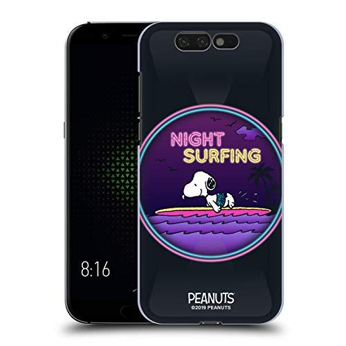 Head Hülle Designs Offizielle Peanuts Nacht Surfer Snoopy Aloha Disco Harte Rueckseiten Handyhülle Hülle Huelle kompatibel mit Xiaomi Black Shark