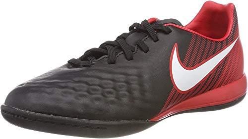 Nike Unisex JR Magistax ONDA II IC Fußballschuhe, Mehrfarbig (Black/University Red/Bright Crimson/White 061), 38.5 EU