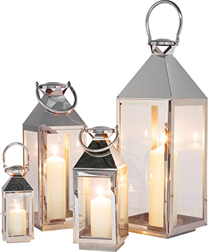 Kare Giardino Lot de 4 lanternes