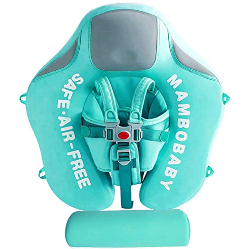 Non Inflatable Baby Float Swim Trainer (Green)