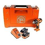 FEIN ASCD 18-300 W2 - Atornillador de impacto inalámbrico (18 V, 290 Nm, sin escobillas, 2...