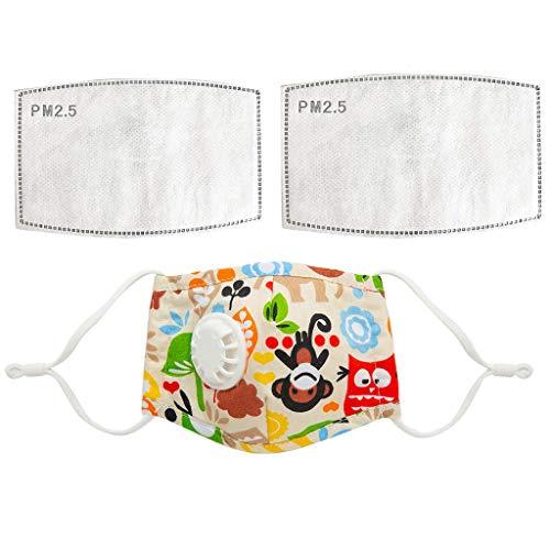 Neueste Kinder Kinder Mundmaske Unisex Baumwolle Gesichtsmaske Anime Maske Für Radsport Camp (01-A)