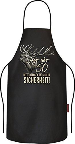 RAHMENLOS Das Geschenk für den Jäger zum 50. Geburtstag Original BBQ Grillschürze: 6138