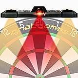 IgnatGames Laser Toe Line Marker - Adjustable Laser Throw Line Lights for Bristle/Electronic Dartboard, Mounting Kit Included