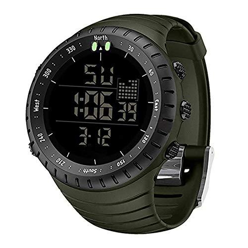 Mens WatchesSKMEI Waterproof Military Outdoor Sport Watch Men Fashion LED Digital Electronic Black Alarm Clock