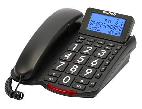 Olympia Großtasten Komforttelefon mit Display 4210