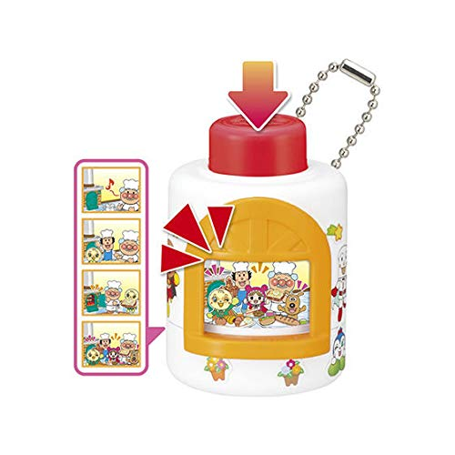 Best Price Push-Push Anpanman 4 6. Bread Making Everyone / miniature toy