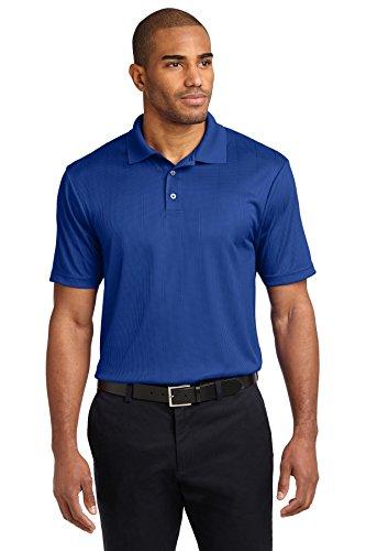 Port Authority® Performance Fine Jacquard Polo. K528 Hyper Blue 3XL
