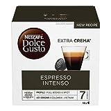 Nescafé Dolce Gusto Espresso Intenso, Caffè Espresso 6 Confezioni da 16 Capsule, 96 Capsule