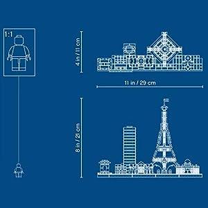 Amazon.co.jp - レゴ アーキテクチャー パリ 21044