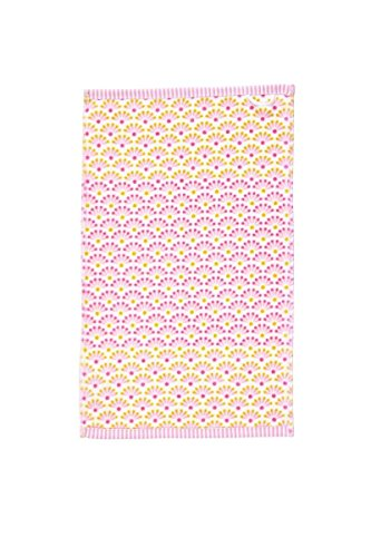 Pip 30x50cm Gästetuch Blooming Tails star white pink