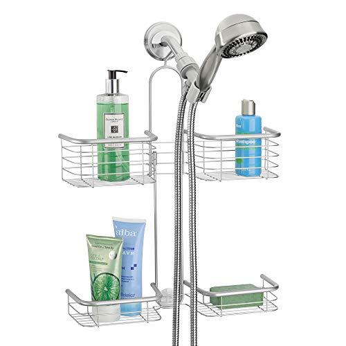 iDesign Organizador de ducha, cromado