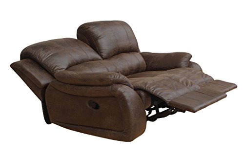 Microfaser Relaxsofa Sofa Relaxsessel Fernsehsessel 5129-2-VF03