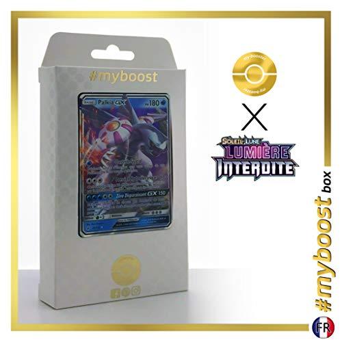 Palkia-GX 20/131 - #myboost X Soleil & Lune 6 Lumière Interdite - Coffret de 10 Cartes Pokémon Françaises