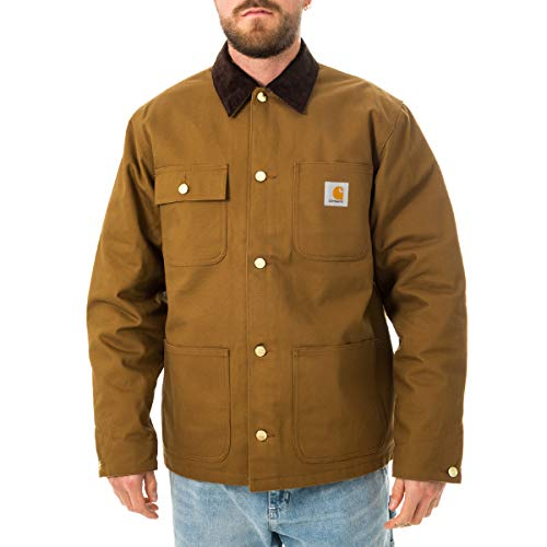 CARHARTT WIP Michigan - Abrigo orgánico color marrón