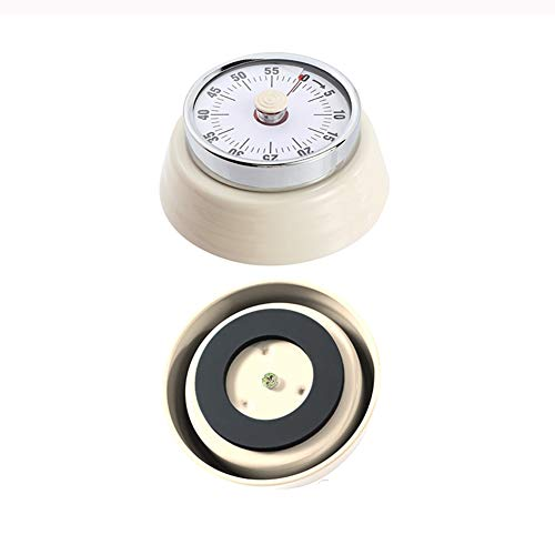 Minuterie De Cuisine, Minuterie Mécanique Sans Pile, Minuterie Analogique Visuelle De 60 Minutes, Utilisée Pour Les Jeux De Cuisine Et De Pâtisserie.