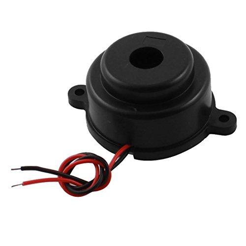 Componente eléctrico Cilindro de alta decibelios zumbador de alarma Bip DC 24V