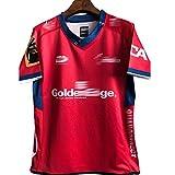 RFVBGT Jerseys de Rugby, Adecuado para una Camisa de Rugby de la región de Tasman de Tasman, Uniformes de Rugby para Hombres y Mujeres, Novios L