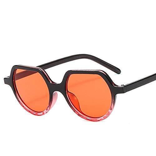 Gafas De Sol Irregulares Mujeres Gafas De Sol Vintage Steampunk Leopard Tea Shades Gradient Gafas Adecuadas para Compras De Viajes Al Aire Libre Y Tomar El Sol, Etc-C2