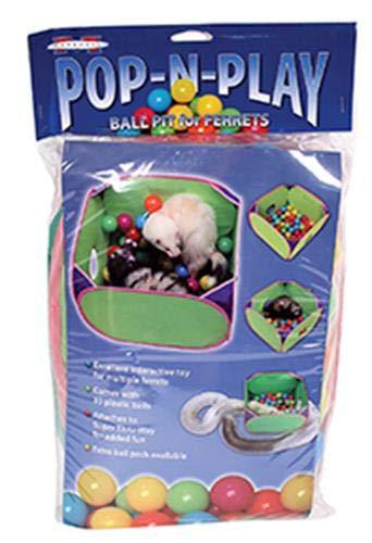 Tenda + piscina a palline + conduttura SKL Kids Toddler Pop Up Ball Gioca a Pit Pool Outdoor / le palle NON sono incluse