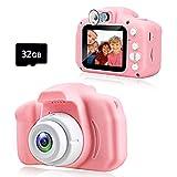 KAWELON Kids Camera, Best Birthday Gifts for 3 4 5 6 7 8 Year Old Girls Boys, Upgraded 20MP HD...