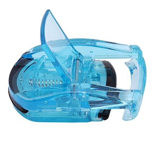 Underleaf 1 PC Portable Mini recourbe-cils Pocket Maquillage Clip cils Tweezers Cils Curler Tools (bleu)