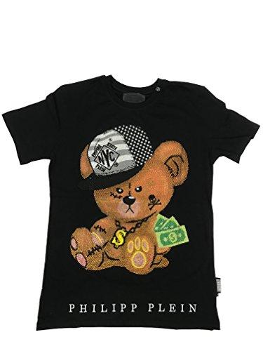 Philipp Plein T-Shirt Rundhals Baby Schwarz Gr. XXL