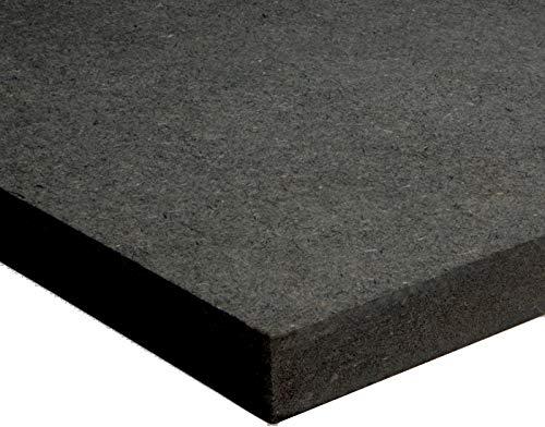 Tableros de Madera negra DM (MDF) de 9MM. Tamaños Disponibles A0, A1, A2, A3, A4, A5 (a Elegir). Soporte para Manualidades, Decoración, Láser, CNC, Pirograbado, Pintura. (A2 420x594mm)