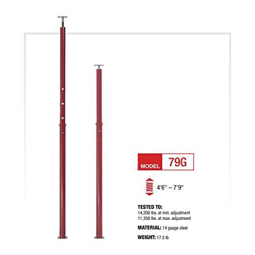 CoreLine Adjustable Jack Post - 16,350-Lb. Capacity, Model Number 79G